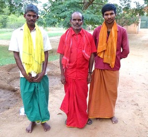 Tamil village sami colors