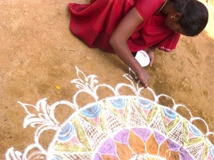 Village India kumutha kolam 2