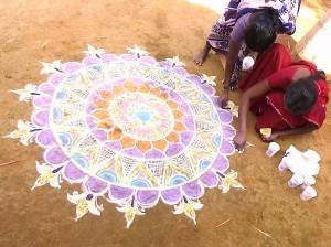 Village India kumutha kolam 5
