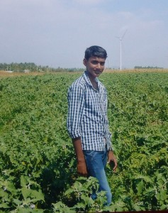 Tamil village brother in field