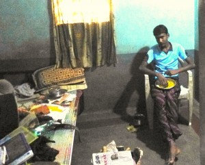 Tamil village brother in his room