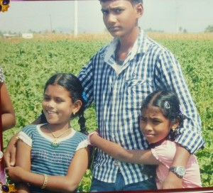 Tamil village brother with cousins