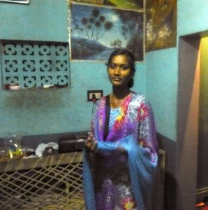 Tamil village daughter in her room