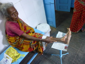 Suruli's mom with injury